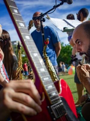 Jardim Botânico de Florianópolis recebe Hoje é Dia de Jazz Bebê!