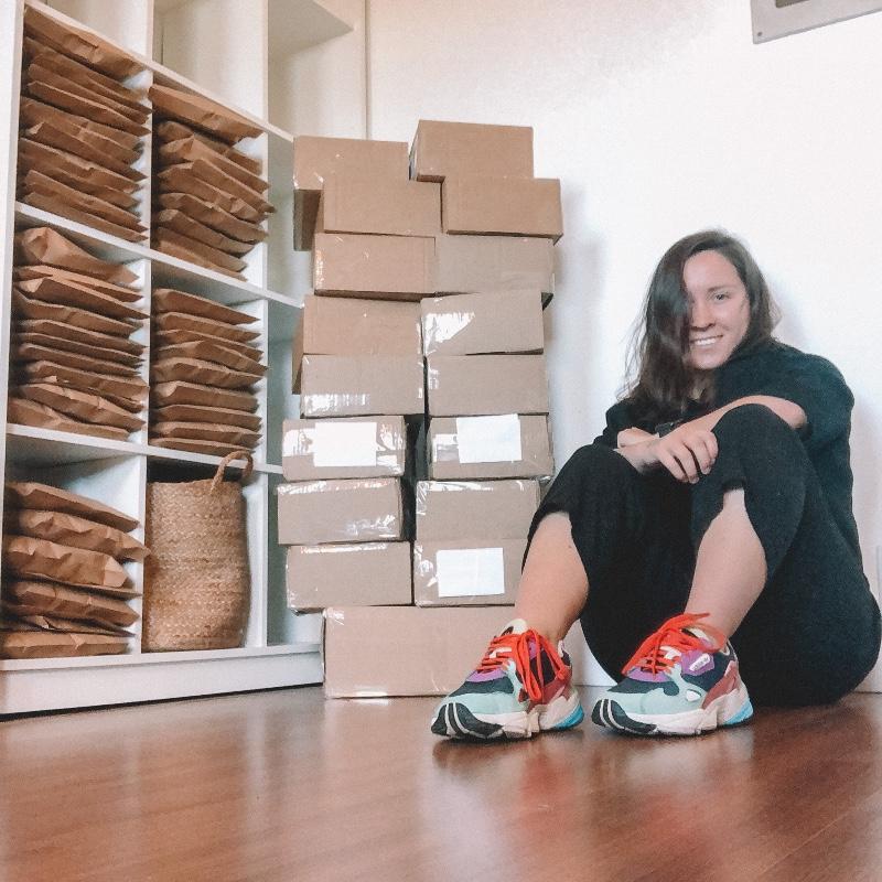 Nina Masnik, empreendedora da Panos Sinceros
